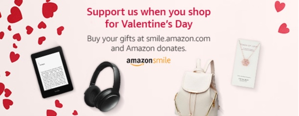 Amazon Smile for Valentine's Day